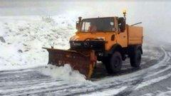 В Румунії через сильні снігопади на дороги вивели снігоприбиральну техніку