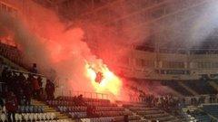 Поліція Одеси оприлюднила фотодокази вандалізму футбольних ультрас на стадіоні «Чорноморець»