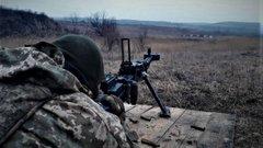 У зоні проведення ООС збили оснащений осколковою вибухівкою  дрон бойовиків