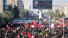 В Ірані під час похорону генерала Сулеймані загинули понад півсотні людей