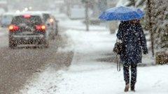 У середині наступного тижня Україну накриє мокрим снігом