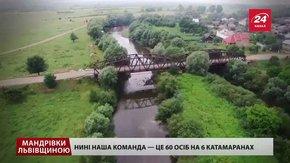 Куди поїхати зі Львова на вихідні: сплав Дністром