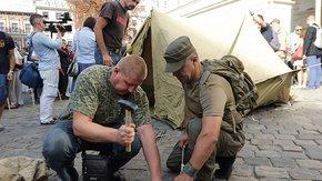По ₴100 тис. учасникам АТО замість землі у Львові. Це справедливо?