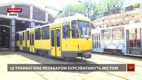 Наступна партія трамваїв із Берліна прибуде до Львова за тиждень