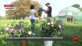 Поблизу Львова боєць-розвідник після війни вирощує троянди