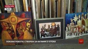 Львівський митець Петро Сипняк завершує ювілейний рік виставкою «Ораторія кольору»