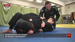 Двоє 12-річних львів'ян стали чемпіонами Європи із бразильського джиу-джитсу