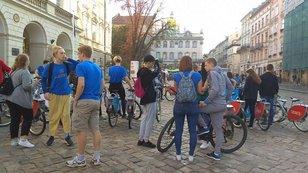 До акції «Велосипедом на роботу» долучилася понад сотня львів'ян