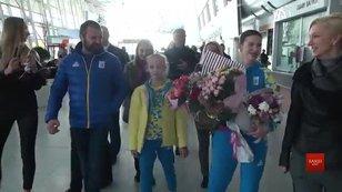 Гімнастка Христина Погранична повернулася до Львова зі «сріблом» Юнацької Олімпіади в Аргентині