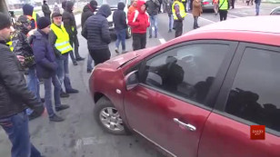 На Львівщині активісти «Авто Євро Сила» переночують біля трас, а вранці знову розпочнуть протест