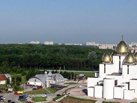 Лісопарк «Зубра» у Львові назвали парком Івана Павла ІІ
