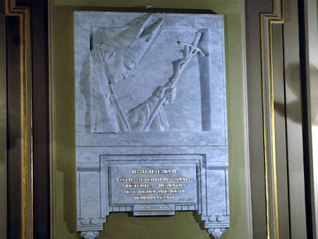У Львівській опері встановили меморіальну дошку Івану Павлу ІІ