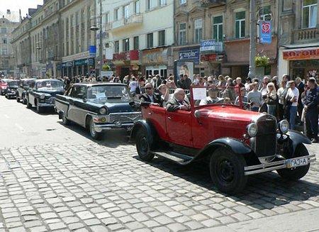 У Львові відбудеться V Міжнародний фестиваль ретро-автомобілів