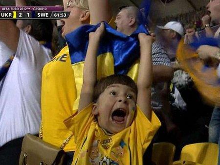 Маленький фанат збірної України став зіркою Інтернету