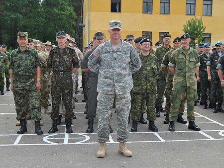 На Львівщині розпочались міжнародні військові навчання