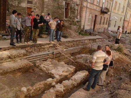 У центрі Львова створять археологічну атракцію