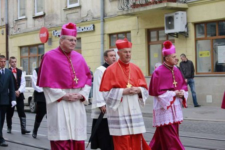 Посланець Папи Кардинал Йозеф Томко побував у Львові