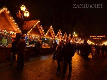 Завтра у Львові відкриється Різдвяний ярмарок