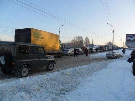 За два дні Тернопіль засипала двомісячна норма снігу