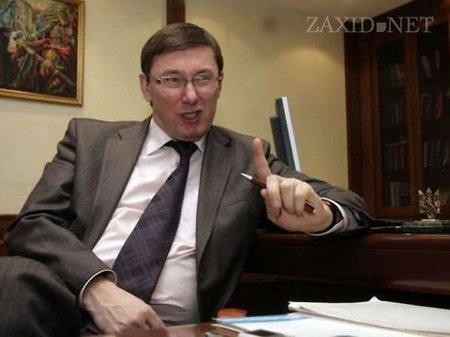 Луценко: У парламенті зібрали підписи за зміну керівництва