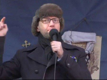 Яценюк: Спочатку потрібно побороти диктатуру Януковича