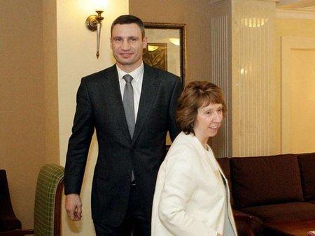 ЄС готовий делегувати посередників на переговори опозиції і влади, – Кличко
