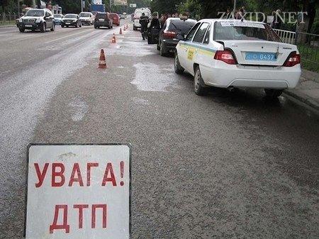 У Львові не розминулися одразу три автомобілі