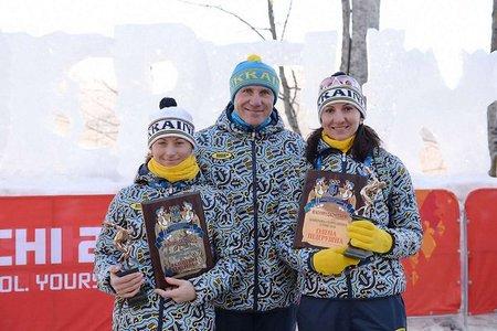 Семеренко і Підгрушна отримали відзнаки в Олімпійському селищі в Сочі