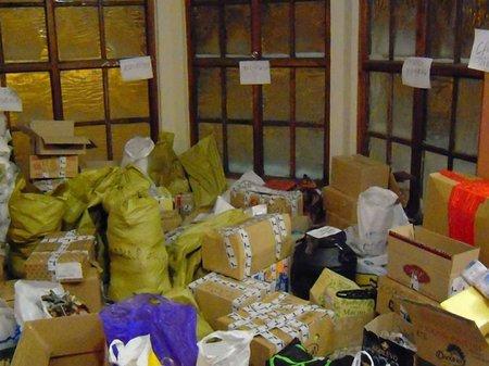 Гуманітарний вантаж для Євромайдану очікує погоджень 7 відомств