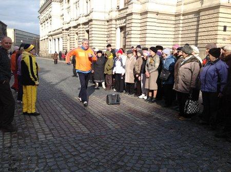 У Львові відбувся марафон з оздоровчої ходьби (відео)