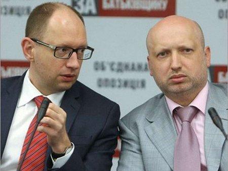 Яценюк і Турчинов сьогодні зустрінуться з Тимошенко