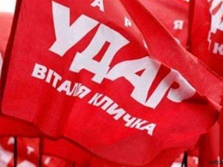 УДАР закликає українців вийти сьогодні на попереджувальний страйк