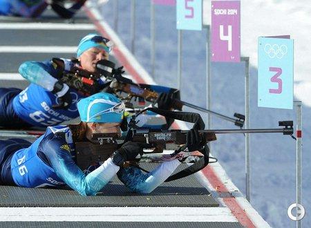 Сьогодні в Сочі українські біатлоністки боротимуться за медалі