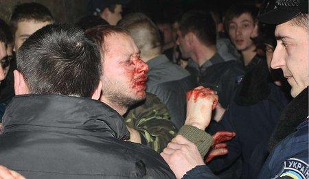 Порушено справу з приводу нападу націоналістів на рок-концерті у Львові