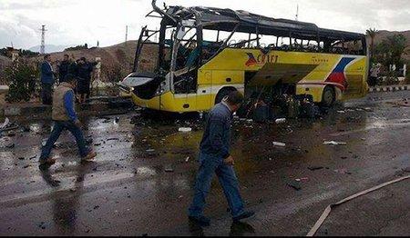 У Єгипті підірвали автобус з туристами з Південної Кореї