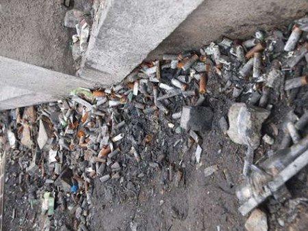 Після силовиків на Грушевського знайшли гільзи від патронів