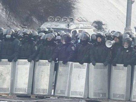 МВС: На Грушевського міліція використовувала травматичну зброю