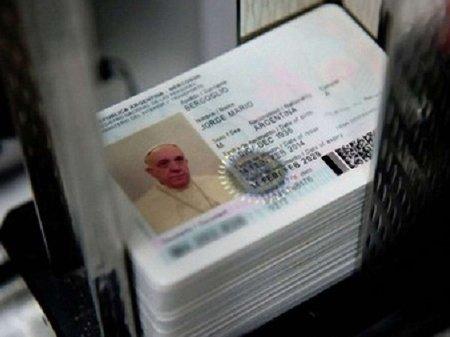Папа Римський Франциск в найближчі дні отримає новий паспорт