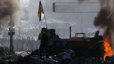 У Києві мітингувальники прорвали міліцейське оточення
