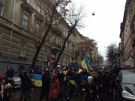 Львівські студенти оголосили загальну мобілізацію