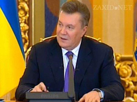 Янукович доручив «негайно організувати переговори з опозицією»