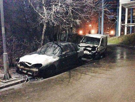 У Львові за ніч спалили три автомобілі