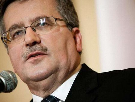 Коморовський закликав поляків до акції солідарності з Україною
