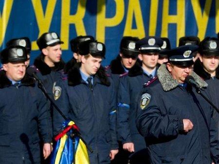 Майдан будуть охороняти львівські міліціонери зі зброєю