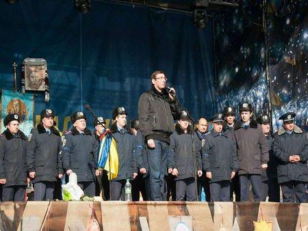 Луценко привіз на Майдан близько 50 міліціонерів зі Львова