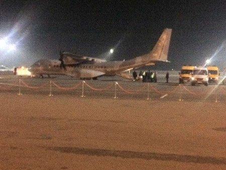 Польща прислала військовий літак за важкопораненими активістами