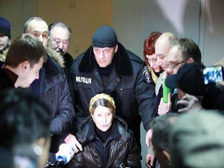 Тимошенко вийшла на волю