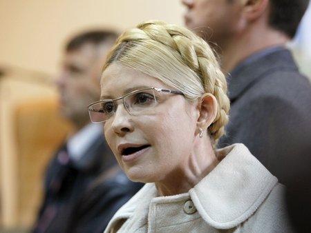 «Герої не вмирають», - Тимошенко на Майдані