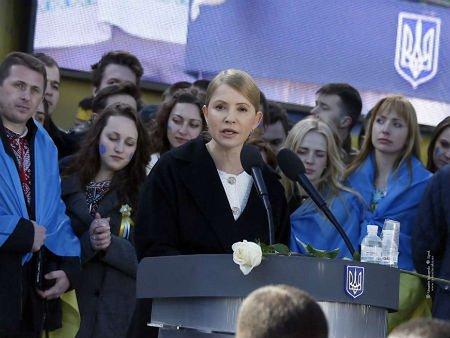 Тимошенко не зніме свою кандидатуру на користь Порошенка