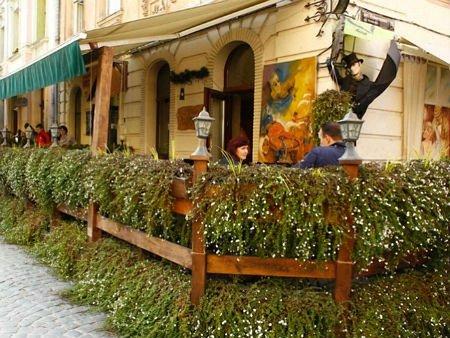 У Львові почали працювати літні майданчики ресторанів